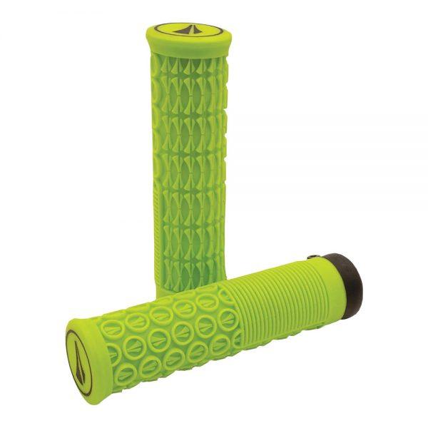 SDG Thrice Lock-On Grips - 31mm - Neon Green, Neon Green