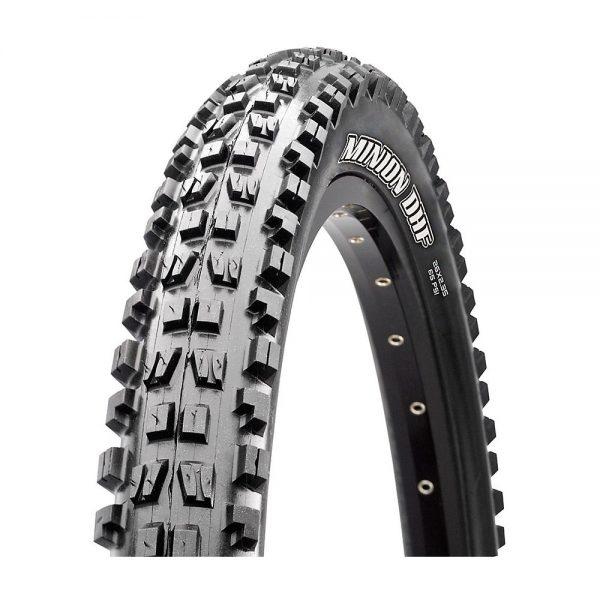 Maxxis Minion DHF MTB Tyre (3C-EXO-TR) - Folding Bead - Black, Black