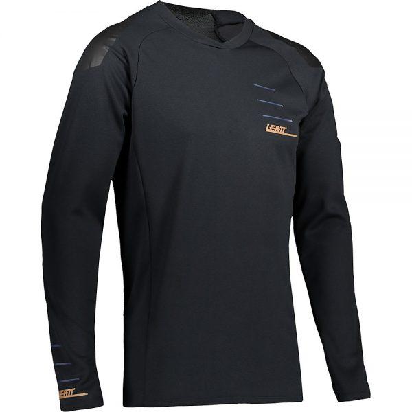 Leatt MTB 5.0 Jersey 2021 - XXL - Black, Black