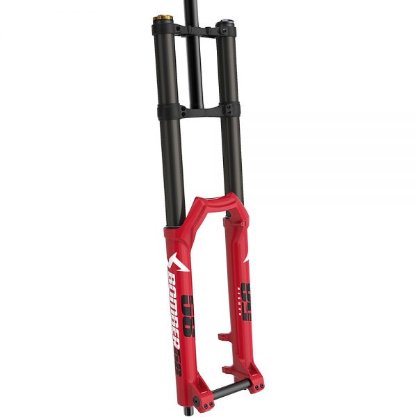 Marzocchi Bomber 58 DH MTB Forks 2021 - 203mm Travel - Red, Red
