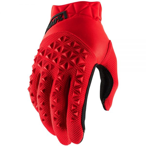 100% Youth Airmatic Gloves - M - Red-Black, Red-Black