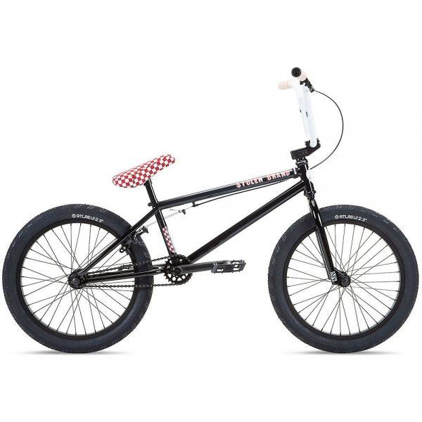"Stolen Stereo 20"" BMX Bike 2021 - Black - Red, Black - Red"