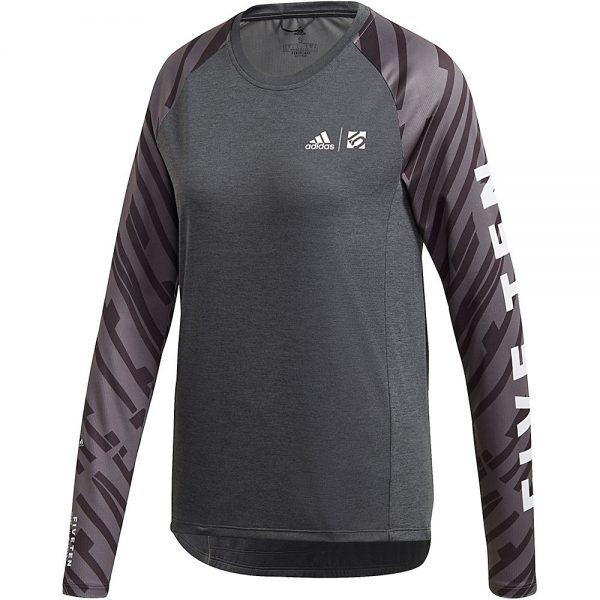 Five Ten Women's Trail Cross Long Sleeve Jersey 2020 - XL - Black, Black
