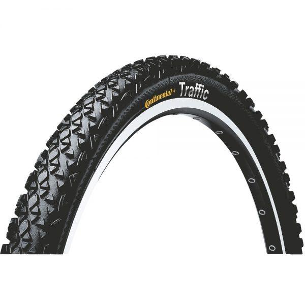 Continental Traffic II MTB Tyre - Wire Bead - Black, Black