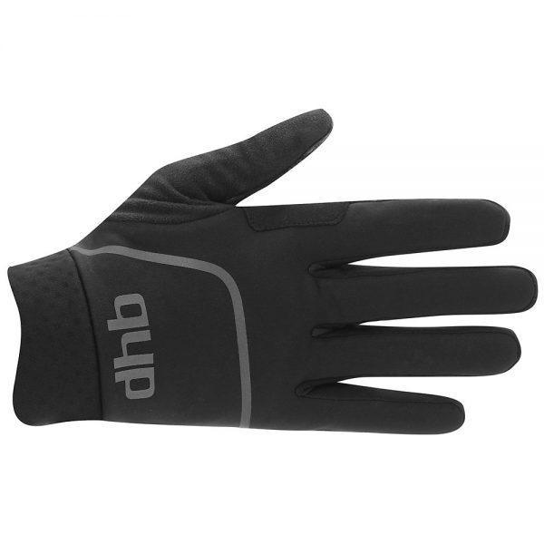 dhb Trail Winter MTB Glove - S - Black, Black