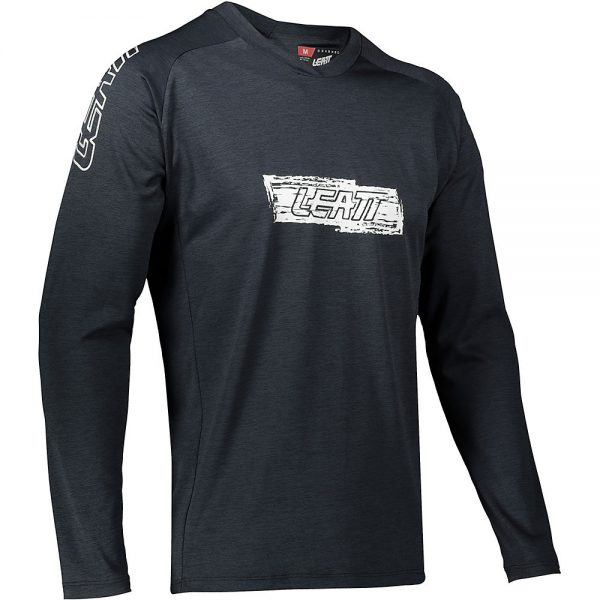 Leatt MTB 2.0 Long Sleeve Jersey 2021 - L - Black, Black