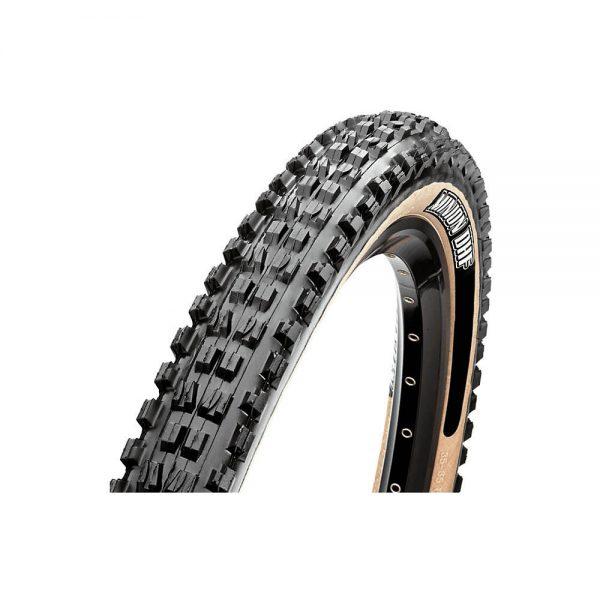 Maxxis Minion DHF MTB Tyre - EXO - TR - WT - Folding Bead - Skinwall, Skinwall