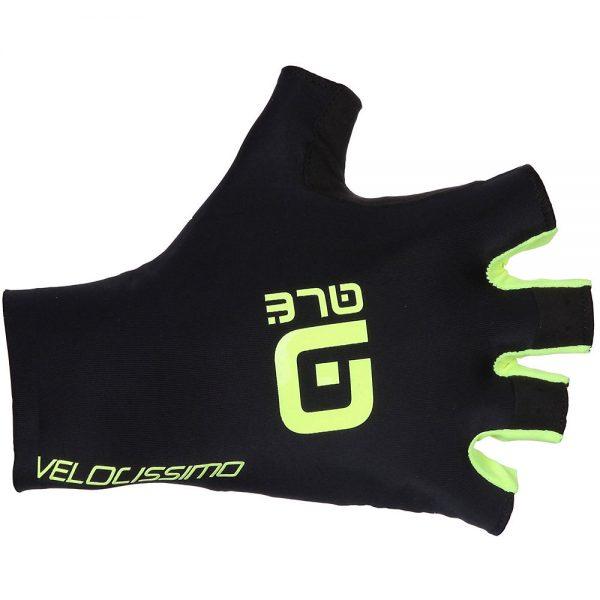 Alé Crono Velocissimo Gloves - XS - Black-Fluro Yellow, Black-Fluro Yellow