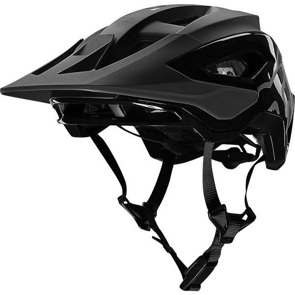 Fox Racing Speedframe Pro MTB Helmet (MIPS) - S - Black, Black