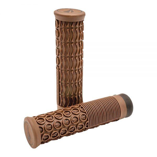 SDG Thrice Lock-On Grips - 33mm - Brown, Brown