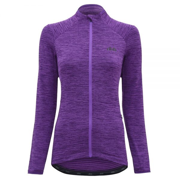 dhb MTB Women's Thermal Jersey - UK 14 - Purple, Purple
