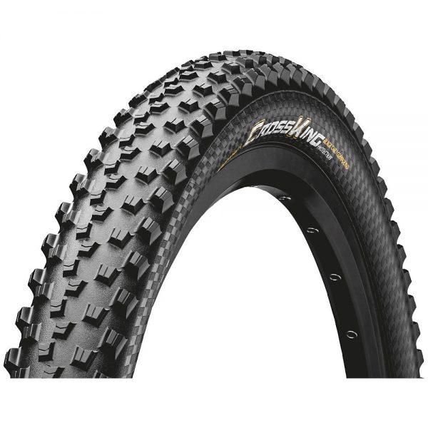 "Continental Cross King ProTection Folding MTB Tyre - Black - 26"", Black"