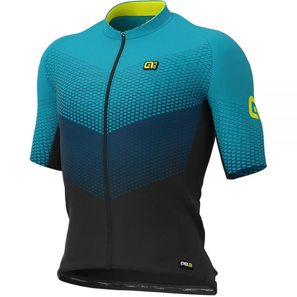 Alé Graphics PRR Delta Jersey - L - Black-Petrol-Turquoise, Black-Petrol-Turquoise