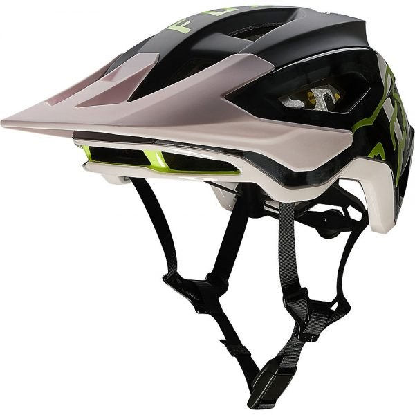 Fox Racing Speedframe Pro MTB Helmet (MIPS) - L - Elevated Black-Pink, Elevated Black-Pink