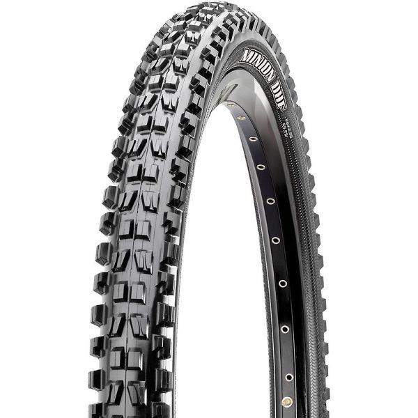 Maxxis Minion DHF MTB Tyre - 3C - TR - DD - Folding Bead - Black, Black