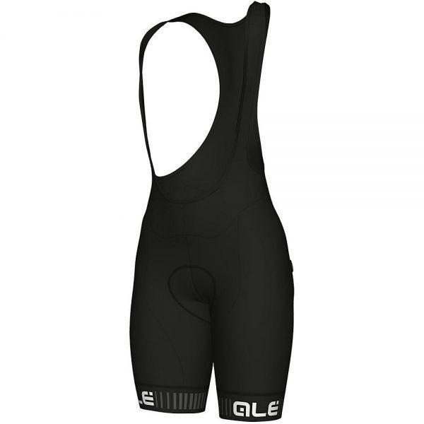 Alé Women's Traguardo Bib Shorts - S - Black-White, Black-White