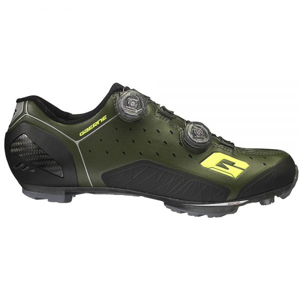 Gaerne Carbon Sincro+ MTB SPD Shoes - EU 46 - Forest Green, Forest Green