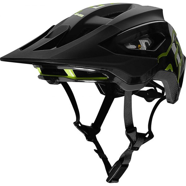 Fox Racing Speedframe Pro MTB Helmet (MIPS) - S - Elevated Black, Elevated Black