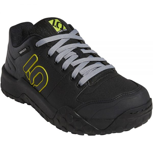 Five Ten Impact Sam Hill MTB Shoes - UK 8.5 - Black-Grey-Yellow, Black-Grey-Yellow