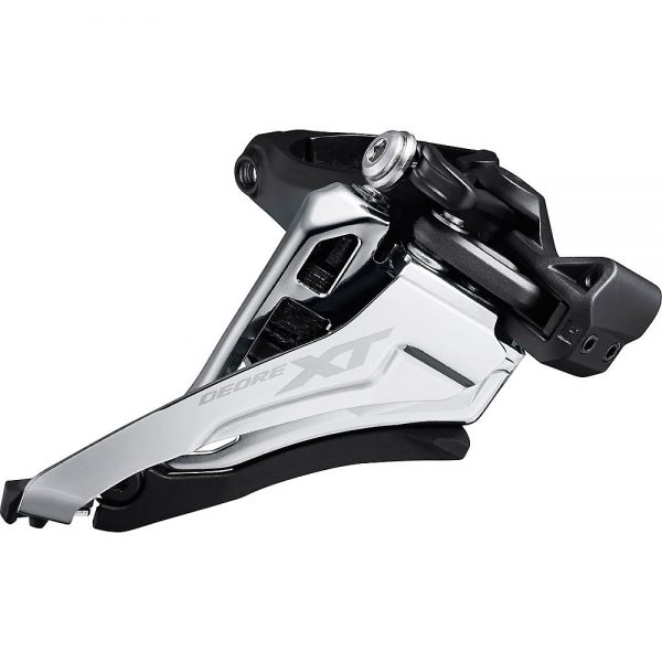 Shimano XT M8100 2x12 MTB Front Derailleur - Black 1 - Mid Mount, Black 1