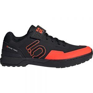 Five Ten Kestrel Lace MTB Shoes - UK 8.5 - Black-Red-Grey, Black-Red-Grey
