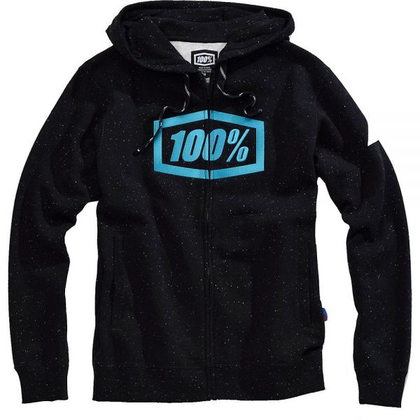100% Syndicate Zip Hooded Sweatshirt - XL - Hyperloop, Hyperloop