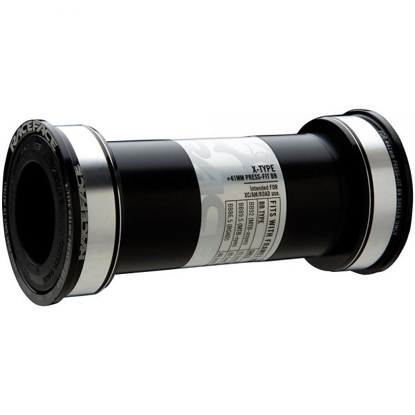 Race Face Cinch BB92 Bottom Bracket - 86.5/92mm - BB92 - 30mm Spindle - Black, Black