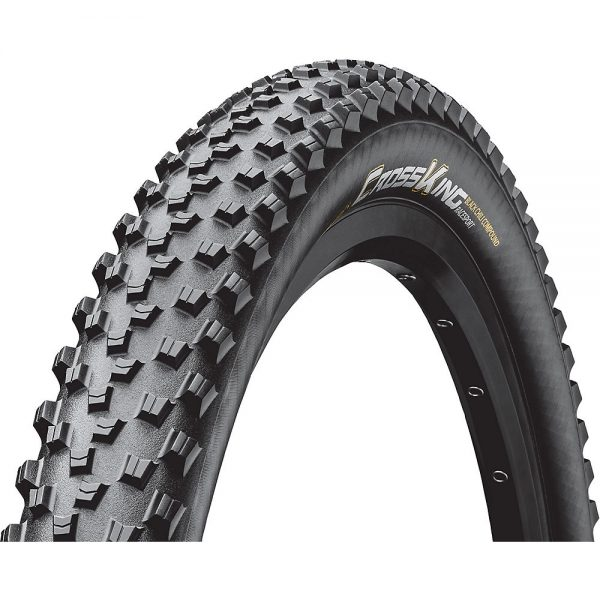 "Continental Cross King Folding RaceSport MTB Tyre - Black - 29"", Black"