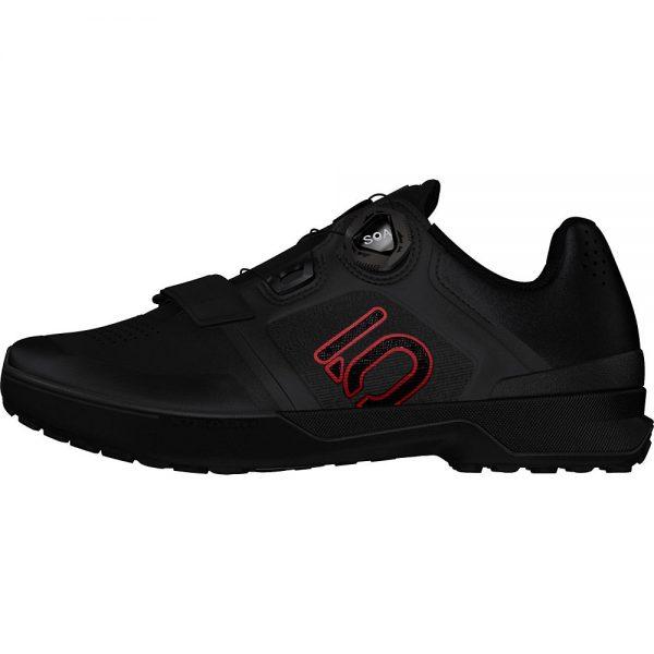 Five Ten Kestrel Pro Boa MTB Shoes - UK 11.5 - Black-Red-Grey, Black-Red-Grey