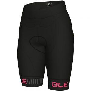 Alé Women's Traguardo Shorts - XS - Black-Fluro Pink, Black-Fluro Pink