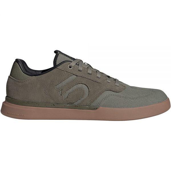 Five Ten Sleuth MTB Shoes - UK 12.5 - GREEN-GUM, GREEN-GUM