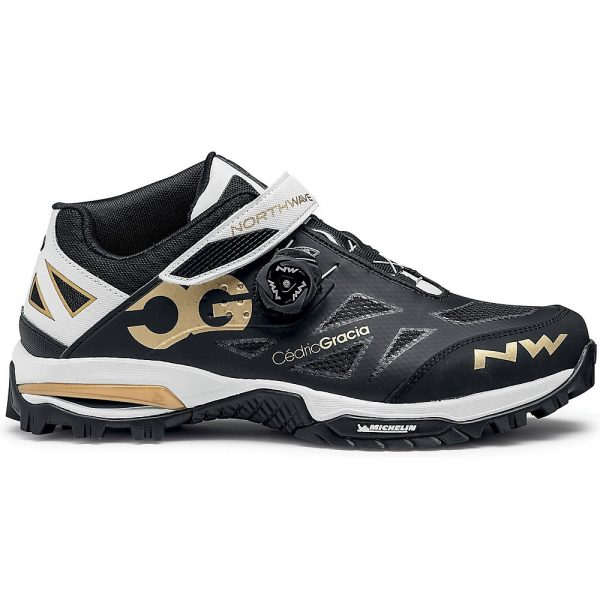 Northwave Enduro MID MTB Shoes 2020 - EU 40 - Black-Gold, Black-Gold
