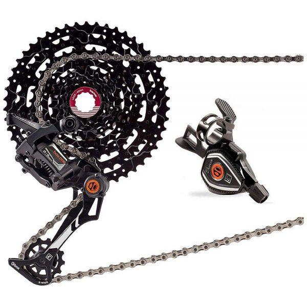 Box One E-Bike 9sp Drivetrain MTB Groupset - 11-23 - Black, Black
