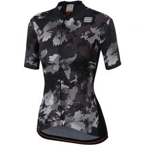 Sportful Women's Loto Jersey - XXL - Black, Black