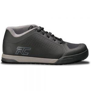 Ride Concepts Powerline Flat Pedal MTB Shoes 2020 - UK 7 - Black-Charcoal, Black-Charcoal