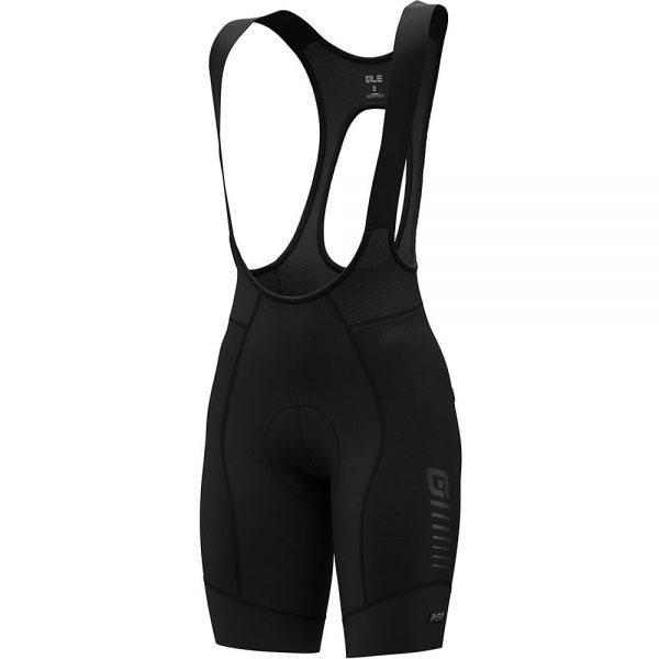 Alé Women's R-EV1 Future Race Bib Shorts - XXL - Black, Black