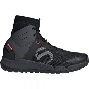 Five Ten Trail Cross MID MTB Shoes - UK 9.5 - Black-Grey-Red, Black-Grey-Red