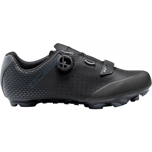 Northwave Origin Plus 2 MTB Shoes - EU 43 - Black-Anthracite, Black-Anthracite