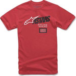 Alpinestars Title Tee - M - Red, Red