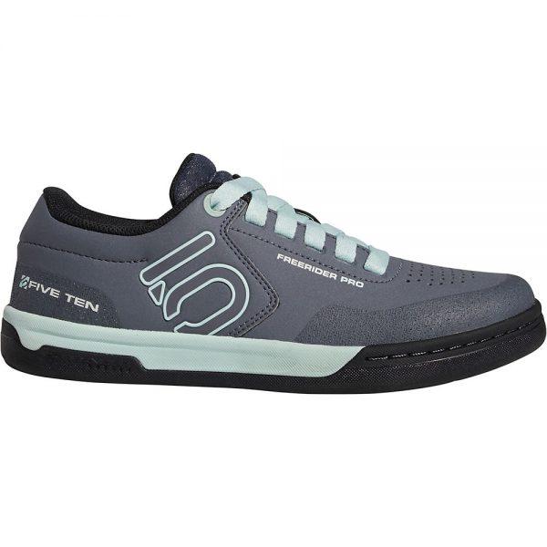 Five Ten Women's Freerider Pro MTB Shoes - UK 4.5 - Onix-Ash Green S18-Clear Grey, Onix-Ash Green S18-Clear Grey