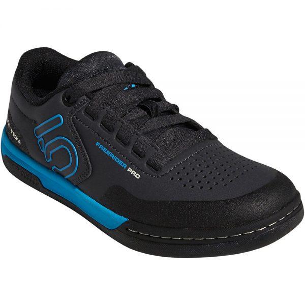 Five Ten Women's Freerider Pro MTB Shoes - UK 8 - Carbon-Cyan-Black, Carbon-Cyan-Black
