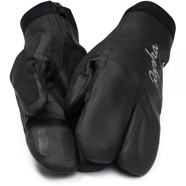 Rapha Overmitts - 2XS - Black, Black