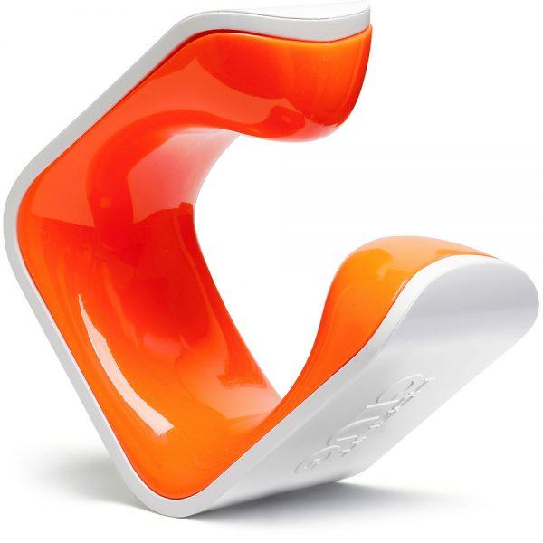 Clug MTB Plus Bike Holder - White - Orange, White - Orange