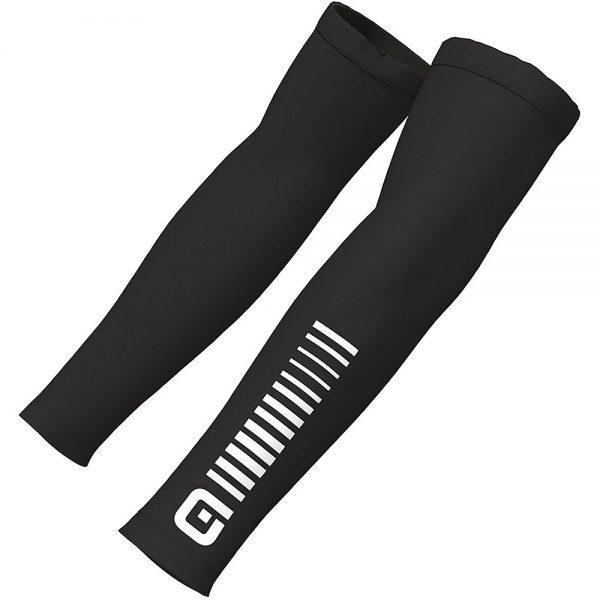 Alé Sunselect Arm Warmers - M - Black-White, Black-White