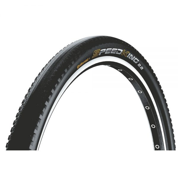 Continental Speed King II MTB Tyre (RaceSport) - Folding Bead - Black, Black