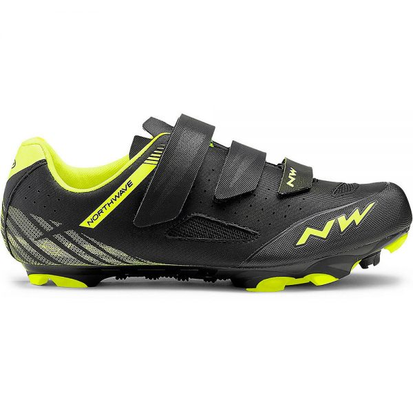 Northwave Origin MTB Shoes 2019 - EU 47 - Black-Yellow, Black-Yellow