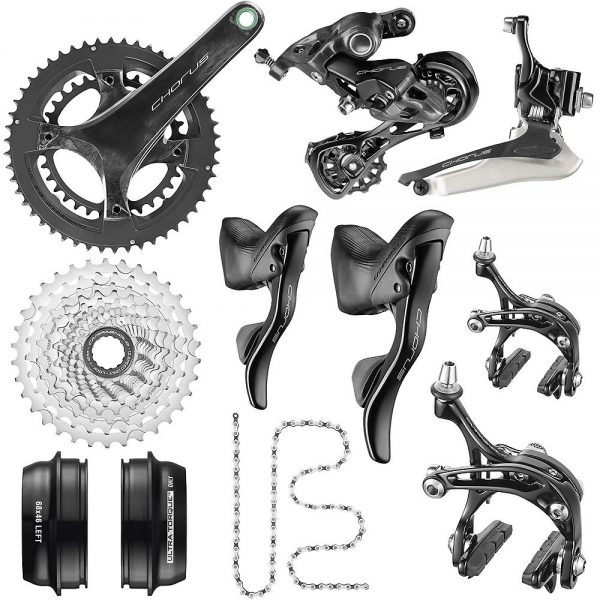 Campagnolo Chorus 12 Speed Road Groupset 2020 - Carbon - 50.34, Carbon
