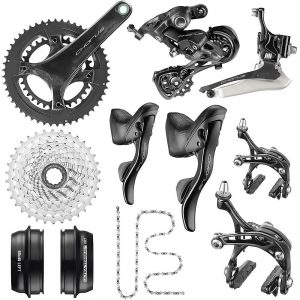 Campagnolo Chorus 12 Speed Road Groupset 2020 - Carbon - 52.36, Carbon