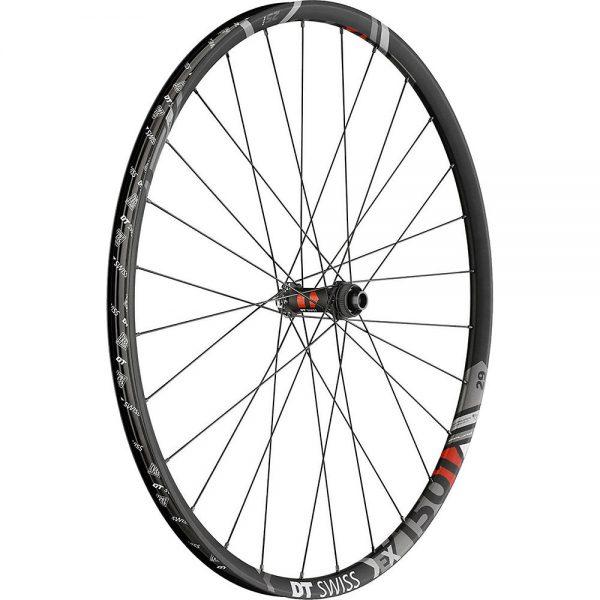 DT Swiss EX 1501 Spline One 25mm MTB Front Wheel - 15 x 100mm CL - Black, Black