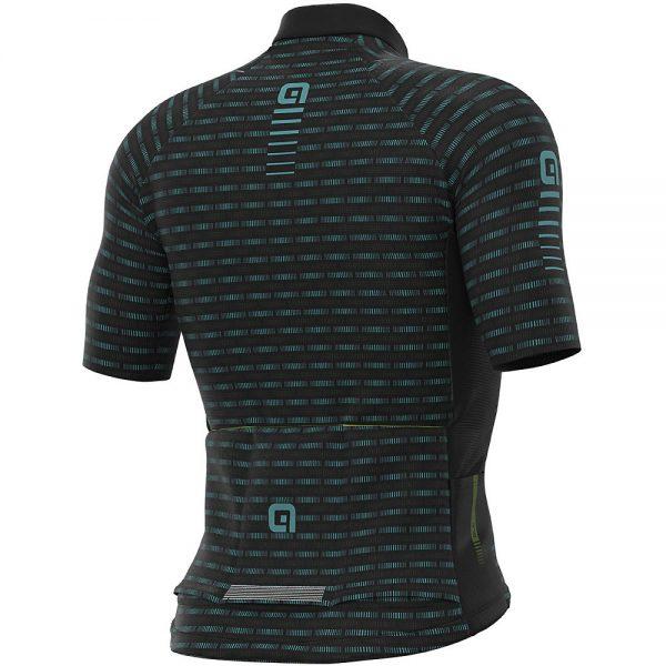 Alé Graphics PRR Green Road Jersey - M - Black-Turquoise, Black-Turquoise